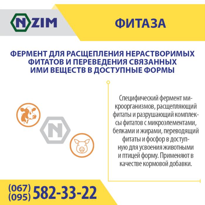 Фитаза ENZIM - Фермент для корма животных и птицы