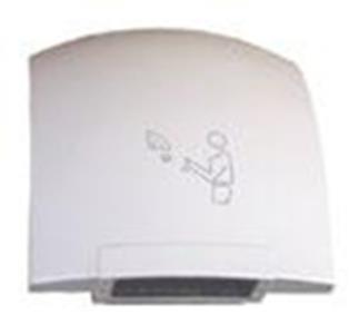 Сушка для рук пластик белый 1800Вт арт100-208