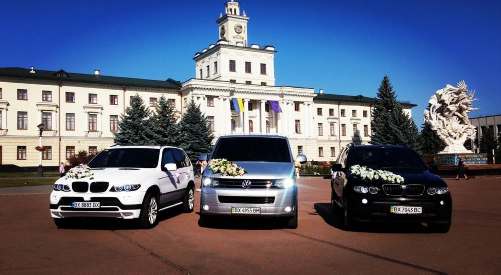 Авто на весілля для Ваших гостей VW T5 GP