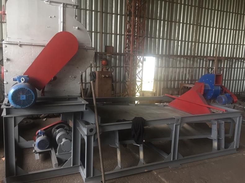Рушально-веечное оборудование Семенорушка для подсолнечника