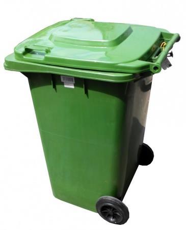Бак для мусора пластиковый 120л 120A-9G