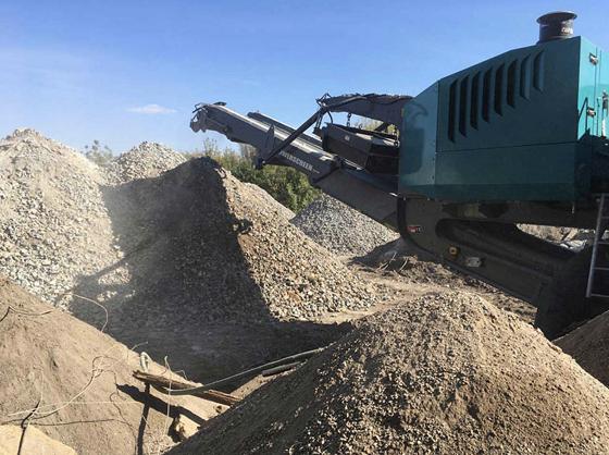 Переработка Строительного мусора Дробление бетона и железобетона