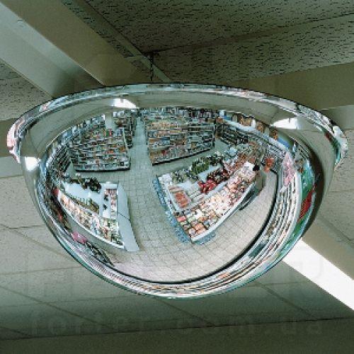 Зеркало Купольное Megaplast 600x360 для кругового наблюдения