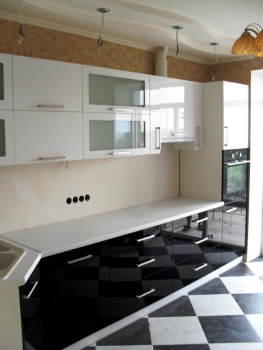 Кухня прямая кухонная мебель на заказ от производителя Одесса