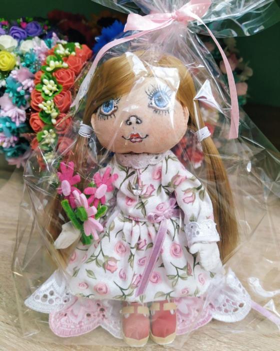 Замечательная куколка Маша ручной работы
