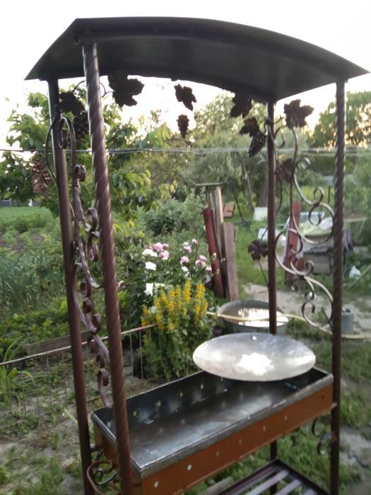 Отопление качели для сада мангальі