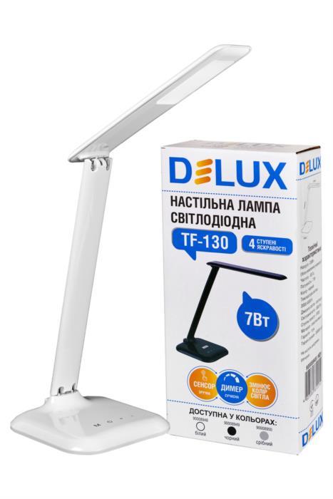 Світильник світлодіодний настільний Delux TF-130 3000К6000К