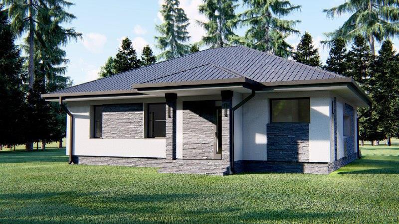 ПРОДАМ НОВЫЙ  дом  В скандинавском  стиле  в Романкове