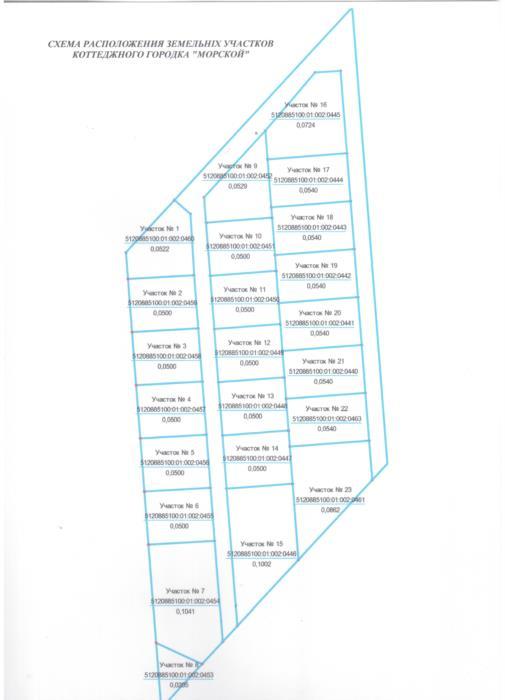 Продаются земельные участки коттеджного городка Морской