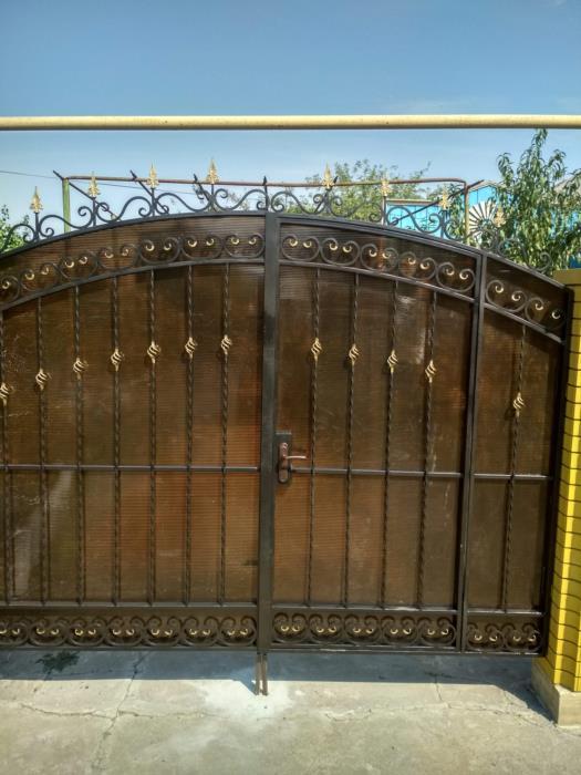 Изготовление кованных изделий ворота калитки заборы и прочее