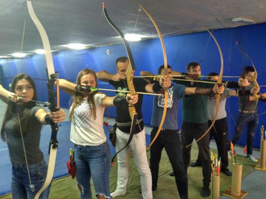 Стрельба из лука в Киеве - Тир Лучник Archery Kiev ОболоньТеремки