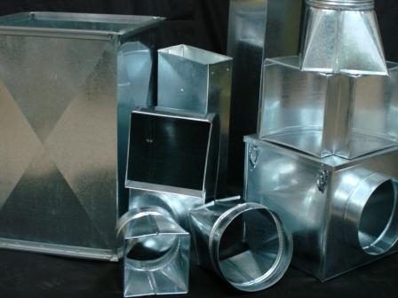 Воздуховоды фасонные детали воздуховодов