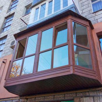 Балкон под ключ Недорого Качественно Окна Двери