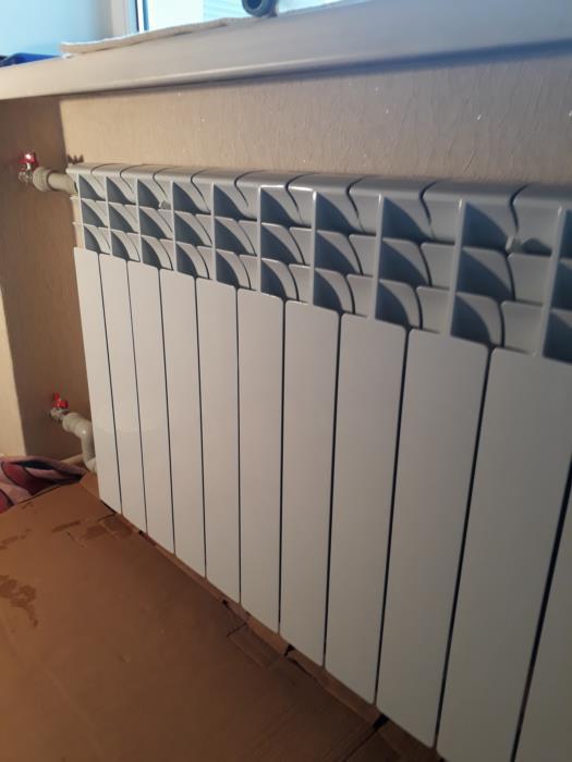 Установка замена радиаторов отопления в Черкассах