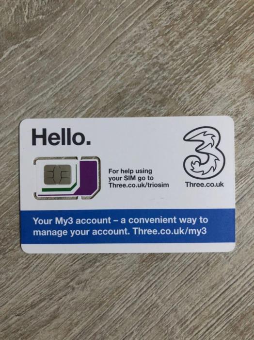 Продам Английские сим-карты Three