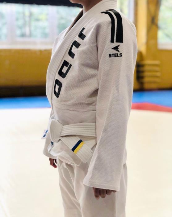 Детское кимоно для Дзюдо белое с поясом