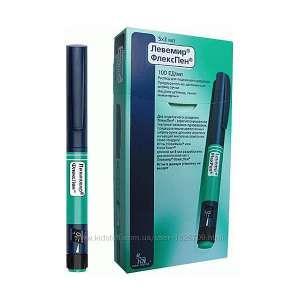 Левемир флекстач шприц ручка инсулин Срок годности 102021 г