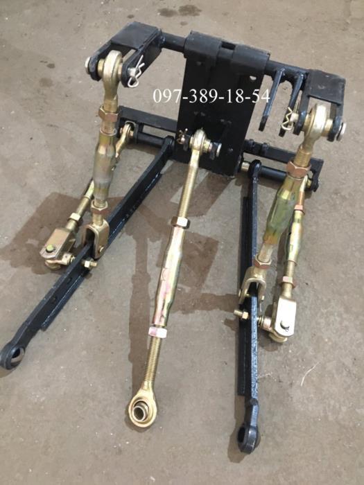 Трьохточкова навісна система Для мототрактора - саморобного трактора