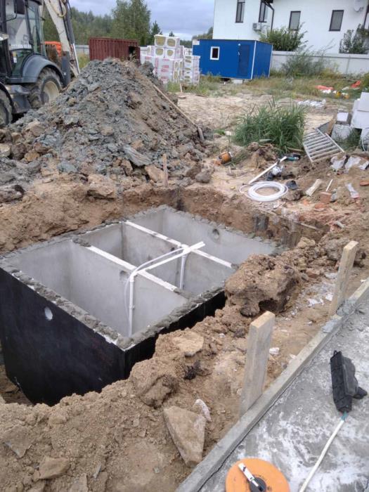 Автономная канализация септик биостанция под ключ Гарантия до 10 лет - Договор