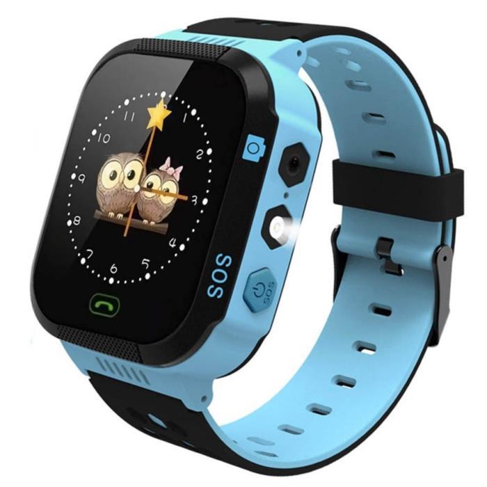 Детские умные часы GPS Smart KIDS Watch Blue