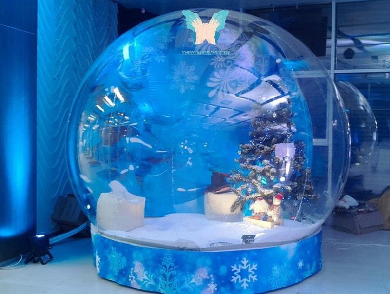 Прозора сфера диво куля шоу куля snow globe українське виробництво