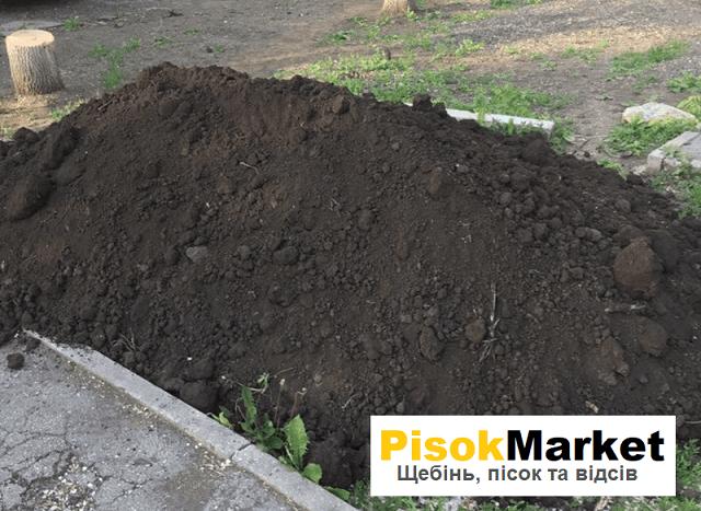 Чорнозем в Луцьку купити замовити PisokMarket