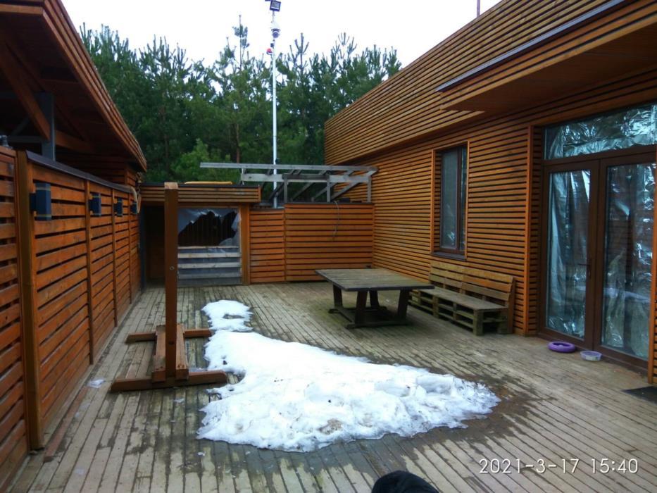 Современный дом с плоской кровлей 90м2 Ясногородка Житомирская трасса 28км