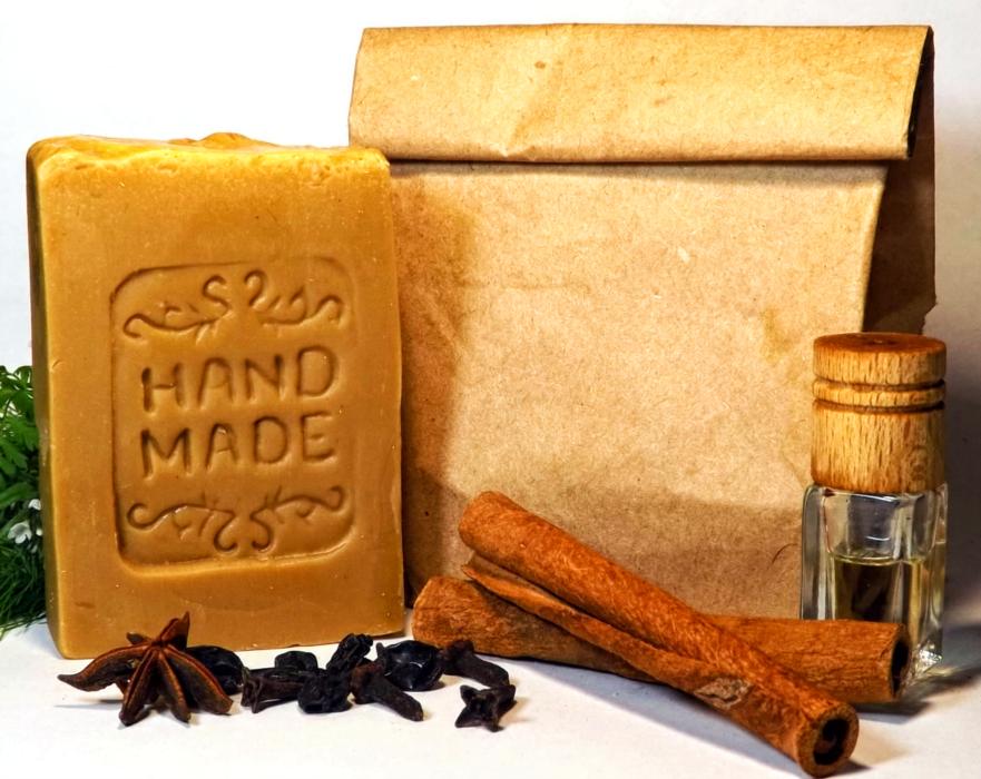 Натуральное мыло С цветочной пыльцой медом и воском