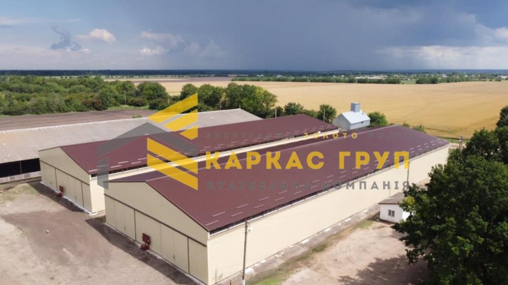 Строительство ангаров складов навесов зернохранилищ