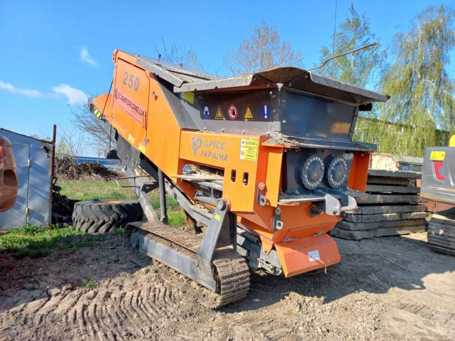 Переработка бетона в щебень