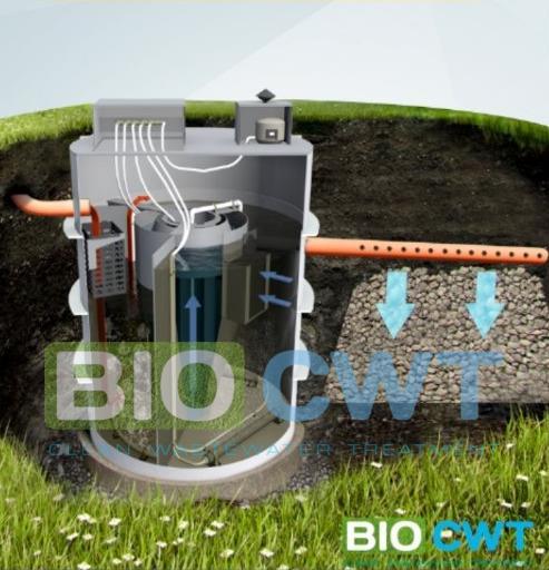 Біосептик септик автономна каналізація для будинків готелів ресторанів невеликих підпримств