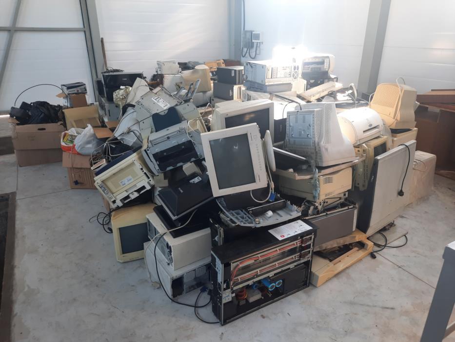 Утилизация компьютерной офисной техники электроприборов