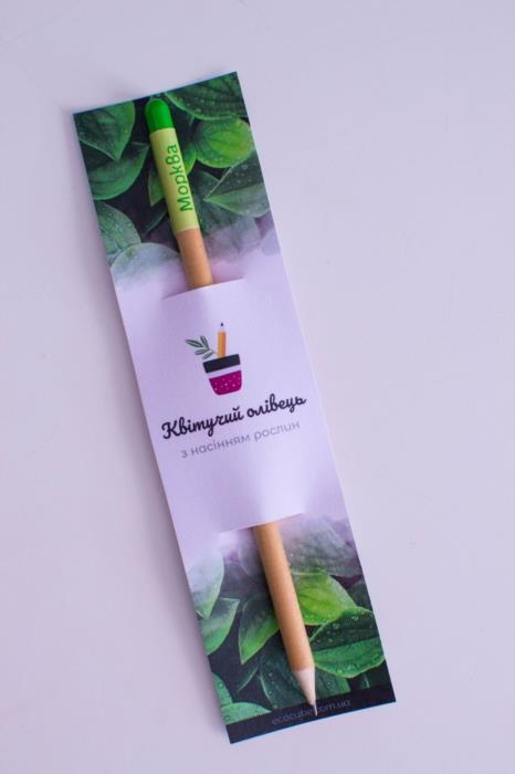 Растущий карандаш живые карандаши живая канцелярия от производителя ТМ Квітучий олівець