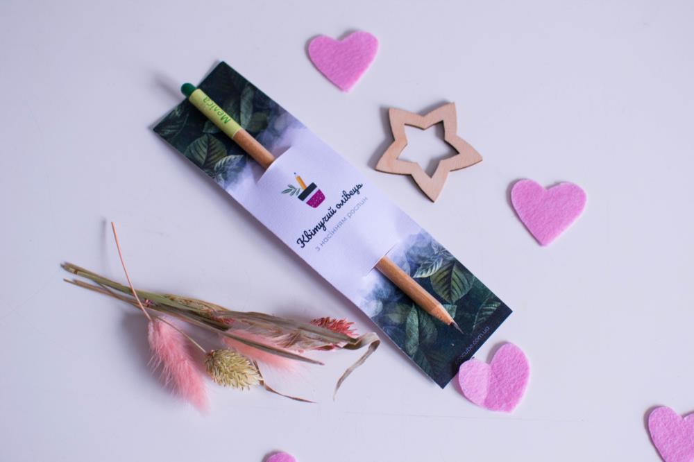 Живая канцелярия от производителя ТМ Квітучий олівець - Растущий карандаш Живые карандаши