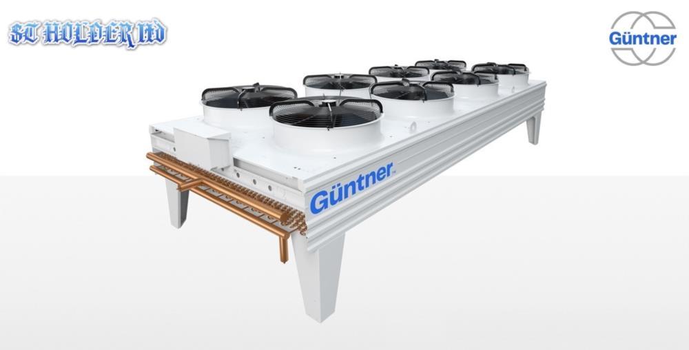 Сухие градирни драйкулеры шокфростеры воздухоохладитеди конденсаторы GUNTNER