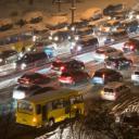На дорогах Киева была просто ужаснейшая ситуация