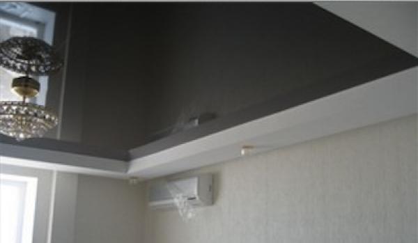 Натяжные потолки: актуально, надежно, эстетично